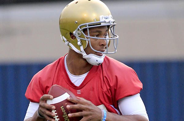 Says quarterback Brett Hundley of the Bruins' 2012 season: 'Some may say we had a good season, but that wasn't the way we wanted to finish.'