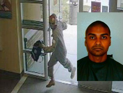 The man behind the Iron Man mask was Lakhram Mahadeo, 26, of Palm Coast, officials said late Wednesday.