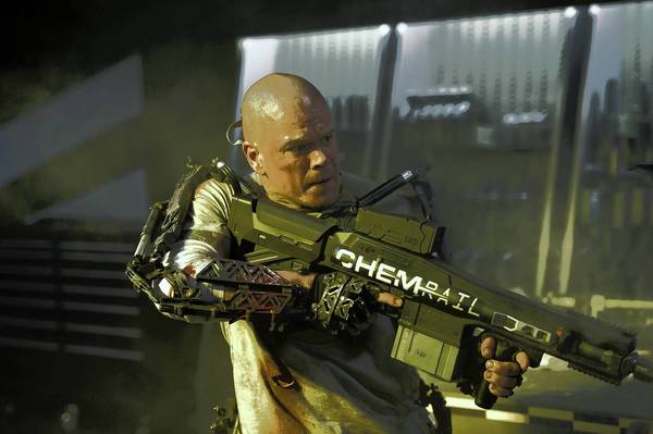 "Matt Damon stars in Columbia Pictures' ""Elysium."""