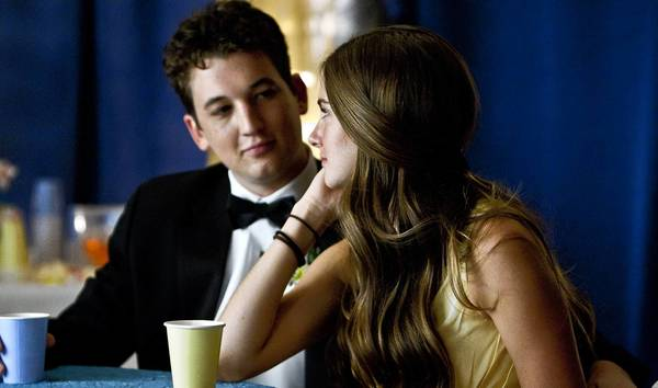 Shailene Woodley and Miles Teller in 'The Spectacular Now.'