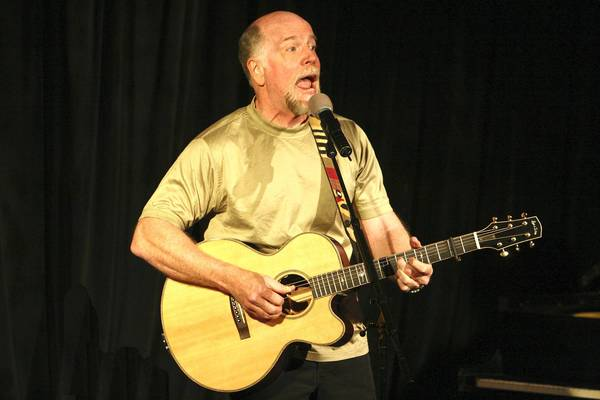 Singer-songwriter John McCutcheon is scheduled to play The American Theatre.