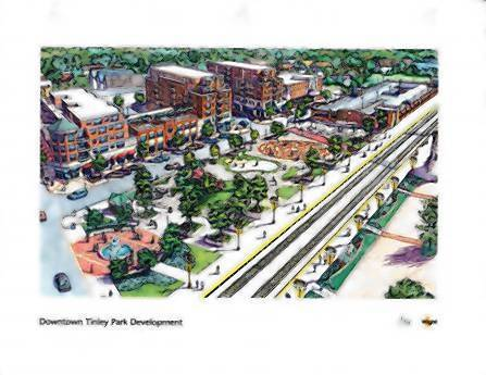 Tinley Park officials fear the potential impact of proposed Metropolitan Water Reclamation District regulations on downtown business development, such as the North Street project, pictured above