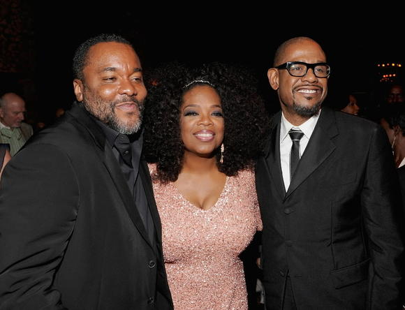"Director Lee Daniels, Oprah Winfrey and Forest Whitaker attend Lee Daniels' "" The Butler"" New York Premiere After Party at The Bowery Hotel on August 5, 2013 in New York City."