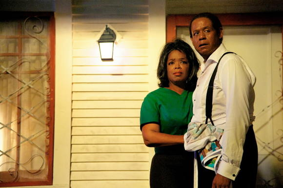 Oprah Winfrey and Forest Whitaker in 'Lee Daniels' The Butler'