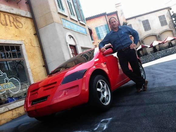 Ron Fox -- Walt Disney Legacy Award winner