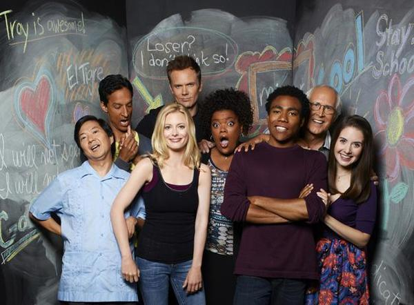 "Comedy Central will begin airing ""Community"" in September."