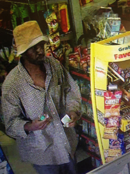 Police say the man pictured is a suspect in a robbery that occurred Thursday in the 1000 block of West Washington Street at Wayne's Country Store.