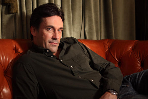 "Actor Jon Hamm plays Donald Draper in the HBO series ""Mad Men."" (Carolyn Cole/Los Angeles Times)"