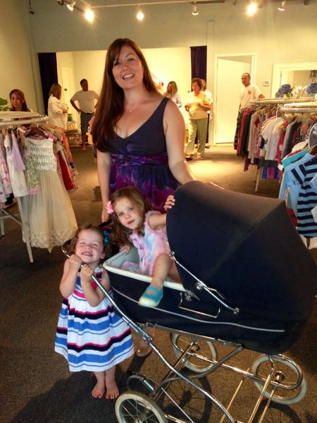 Taryn Bolotin, daughter of Michael Bolton, has opened a children's resale shop in Westport.