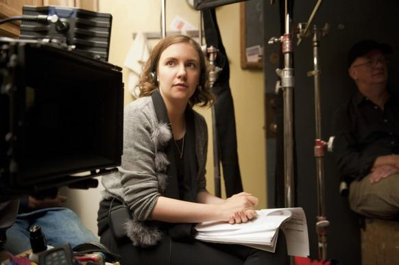 "Lena Dunham has been nominated twice for directing ""Girls."""