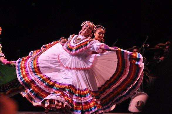 Dancers at VivaFest, which takes place in San Jose and celebrates Mexican heritage during the month of September.