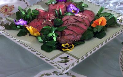 Warm New Potato and Watercress Salad With Roasted Leek Vinaigrette