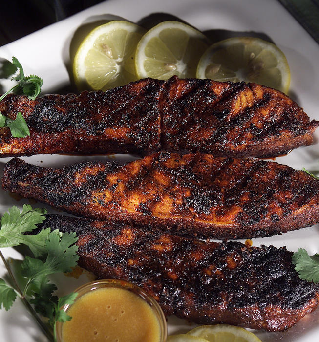 Barbecued Sugar-Spice Salmon