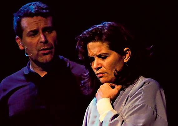 "From left, Wyatt Glover and Leesa Castaneda in the the Greater Orlando Actors Theatre, or G.O.A.T., production of ""Next to Normal."""