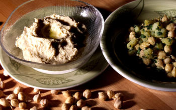 Sprouted Garbanzo Hummus