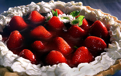 Mrs. Cook's Strawberry Pie