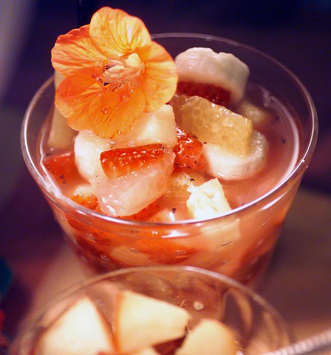 Spring Fruit Cocktail