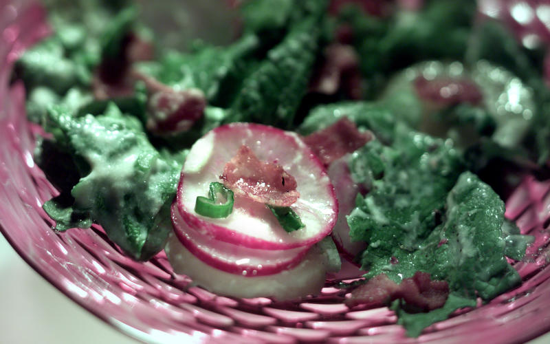 German Lettuce Salad