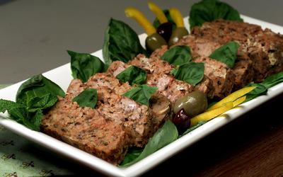 Greek-style turkey loaves