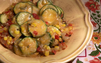 Zucchini With Cheese (Calabacitas con Queso)