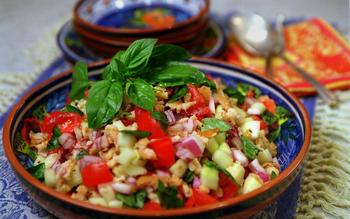 Summer Bread Salad