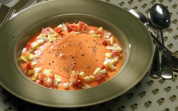 Cold Tomato Soup (Salmorejo)
