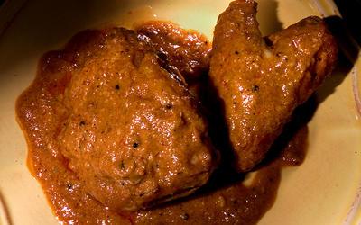 Chicken in Peanut Sauce (Pollo en Cacahuate)