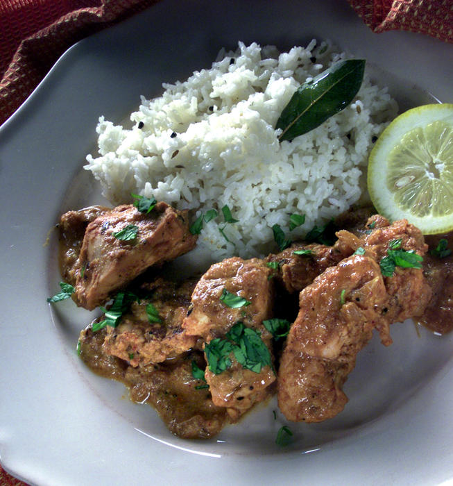 Tandoori Spiced Chicken