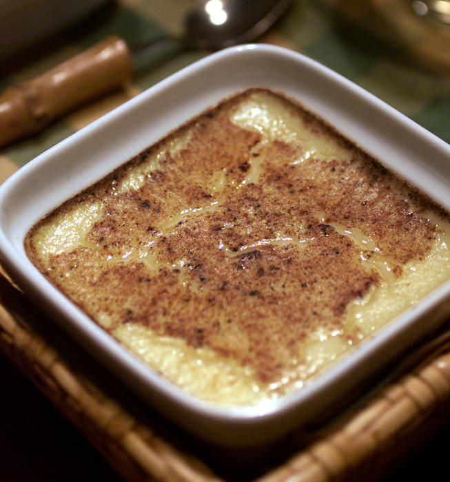 Five-Spice Custard Drizzled With Honey