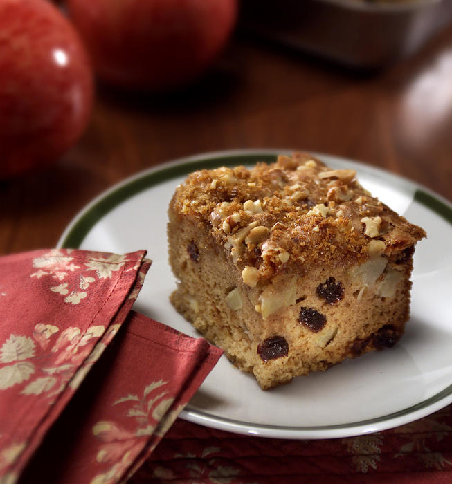 Spiced Apple Cake