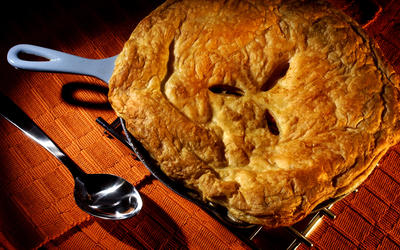 Turkey or chicken potpie