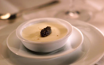 "Cauliflower ""Panna Cotta"" With Beluga Caviar"