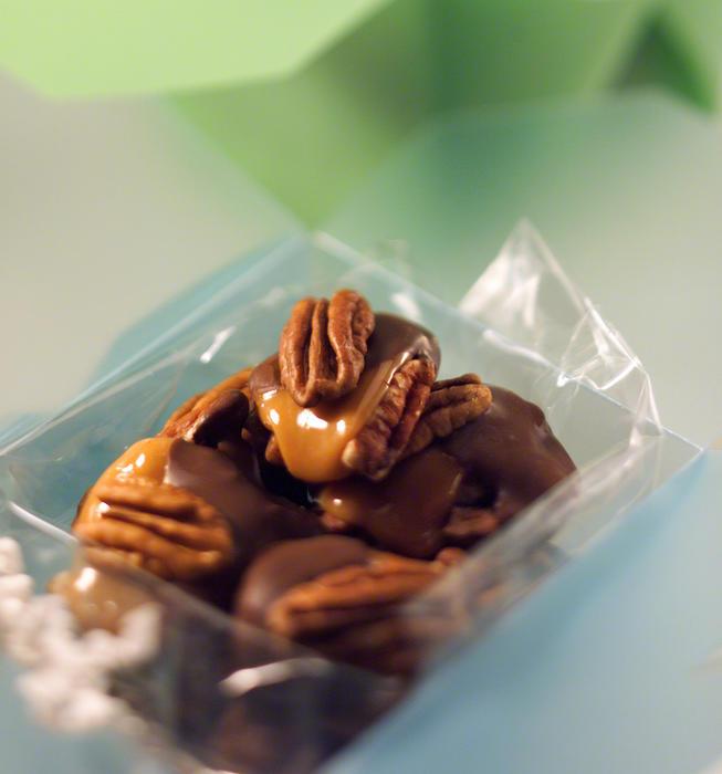 Chocolate Pecan Turtles