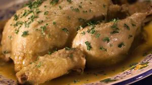 Chicken With Candied Pumpkin (Djaj bel-Qera Mderbela)