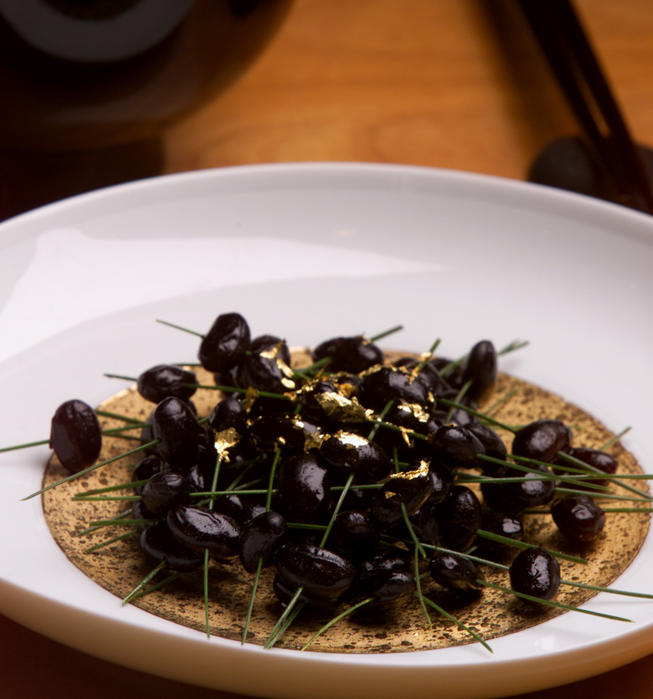 Sweetened Black Soy Beans (Kuromame)