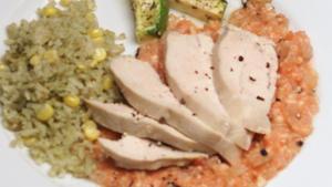 Chicken in Almond Sauce (Almendrado de Pollo)