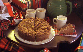 Wesson Oil coffeecake