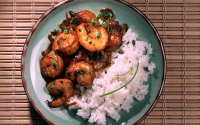 Shrimp in Caramel Sauce (Tom Kho)