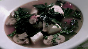 Fish Soup With Swiss Chard