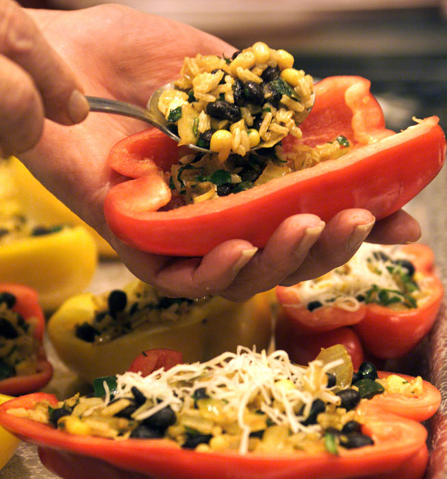 Stuffed Peppers Southwest-Style