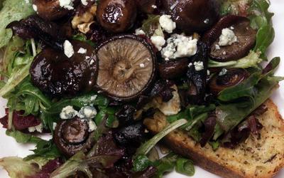 Grilled Wild Mushroom Salad