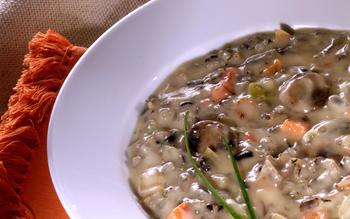 Cream of Minnesota Wild Rice Soup