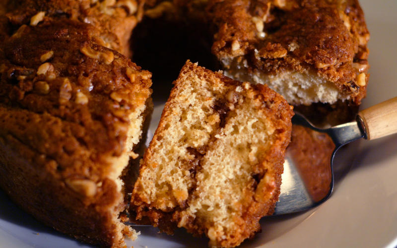 City Schools Sour Cream Coffeecake