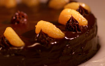 Royal Sonesta Double Chocolate Cake