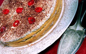 Sicilian rum cake (Cassata)