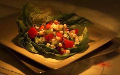 Garden Corn and Tomato Salad