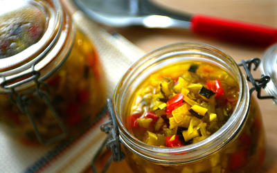 Loni's zucchini relish