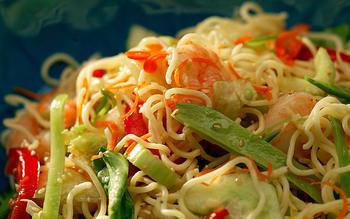 Japanese Shrimp and Noodle Salad