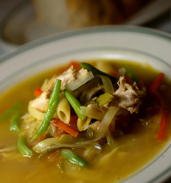 The Grill Chicken Vegetable Soup
