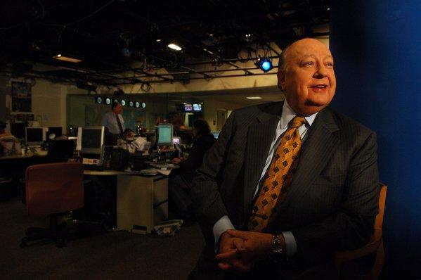 "Fox News Chairman Roger Ailes confirmed that Megyn Kelly was moving to prime-time. He also joked that he wants to be a contestant on ""Dancing with the Stars."" Photo: Ailes is seen in the Fox newsroom in Manhattan, NY. 9/29/2006"